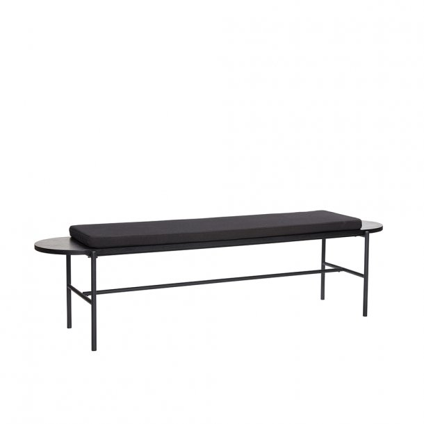 Hübsch - Bench w. cushion - L180 cm