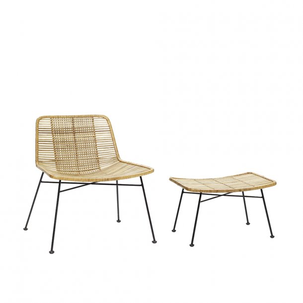 Hübsch - Lounge chair - Square