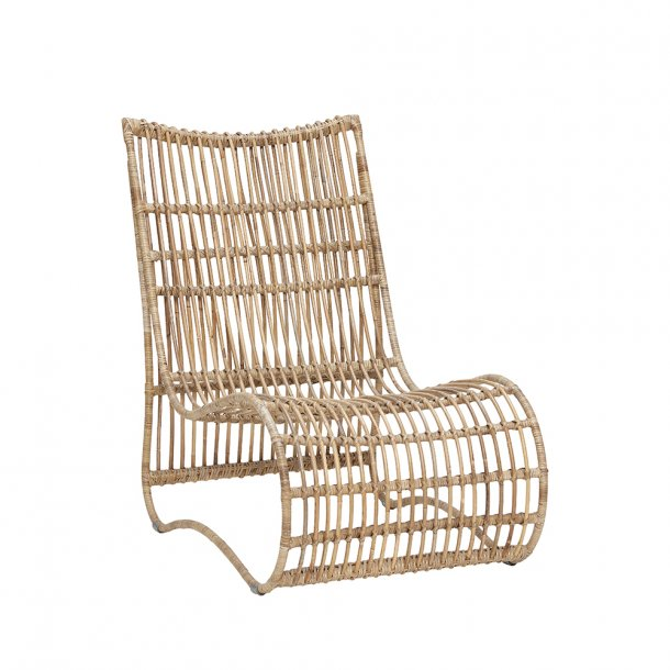 Hübsch - Lounge Chair - H89 cm