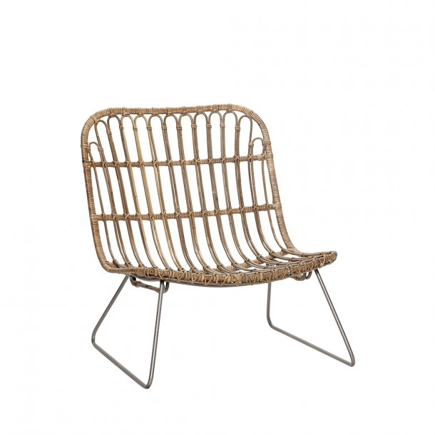Hübsch - Lounge Chair - H69 cm