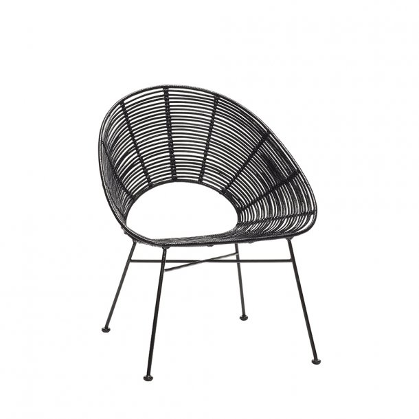 Hübsch - Lounge Chair - H79 cm