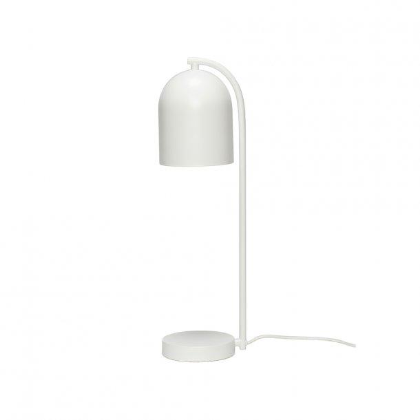 Hübsch - Table lamp, white/green/black - Bordlampe