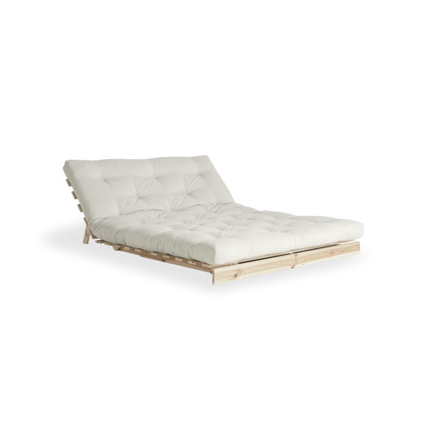 Karup Design - Roots 140 - Sofa seng naturlig ram