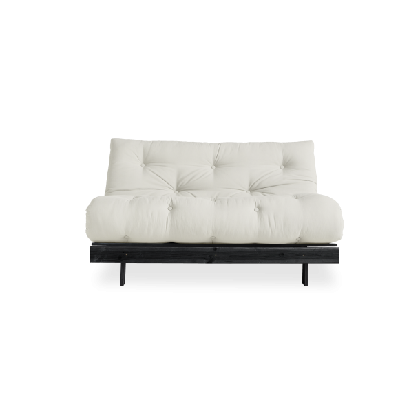 Karup Design - Roots 140 - Sofa seng svart ram