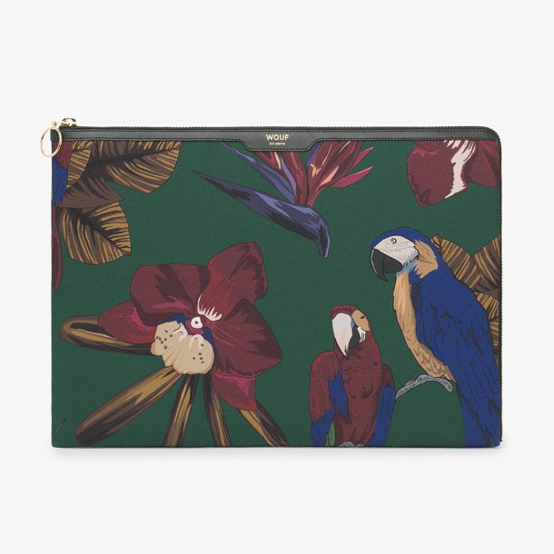Wouf - Tropical Night - Laptop Sleeve - 13