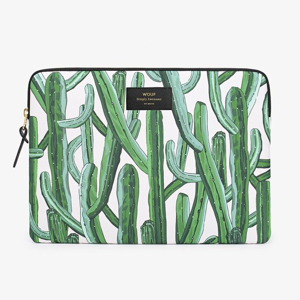 Wouf - Wild Cactus - Laptop Sleeve - 13''