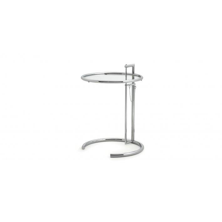 Classicon - Adjustable Table E1027   krom stel