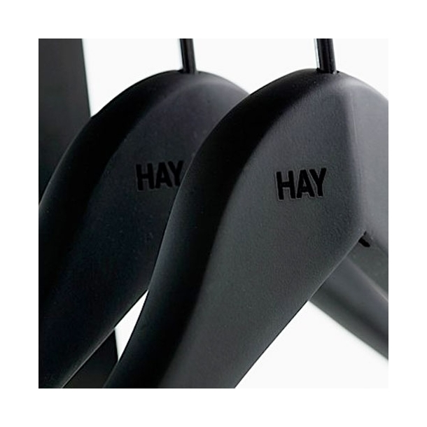 HAY Soft Coat Hanger 4 pcs. - Wide