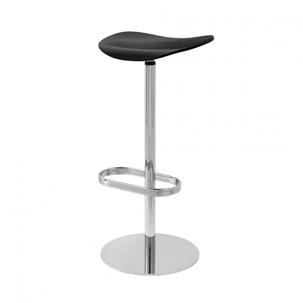 Gubi - 2D Bar Stool | Swivel Base