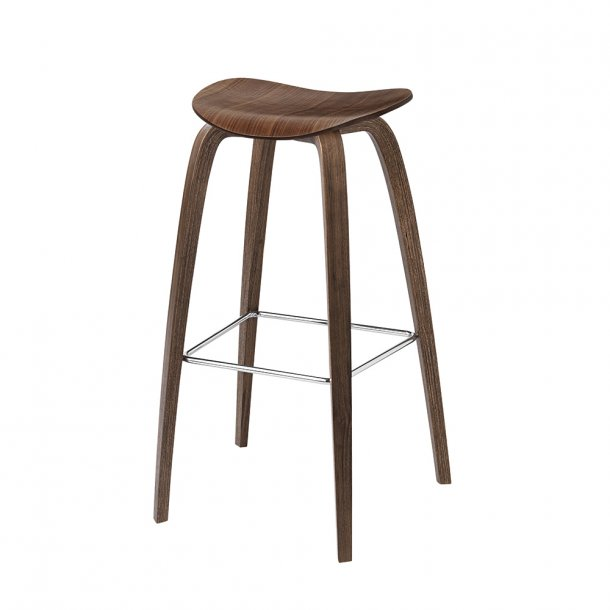 Gubi - 2D Bar Stool - Wood Base