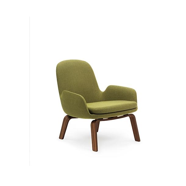 Normann - Era Lounge Chair Low - Walnut