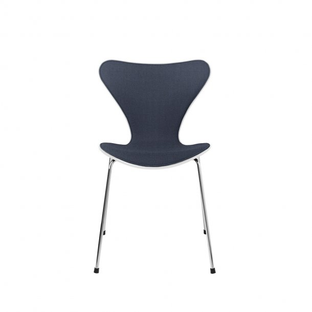 Fritz Hansen - SERIE 7™ stol 3107 - Forsidepolstret, stof/hvid ask