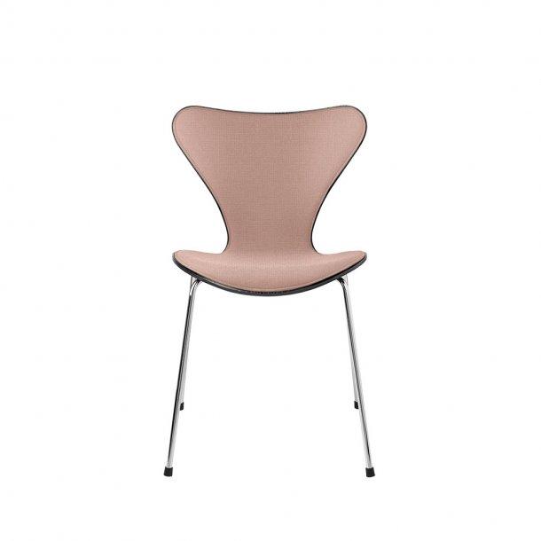 Fritz Hansen - SERIE 7™ stol 3107 - Forsidepolstret, stof/sort ask