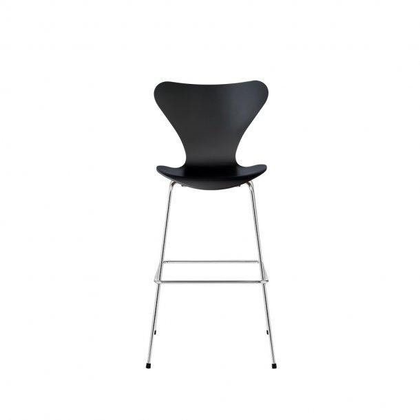 Fritz Hansen - SERIE 7™ høj barstol 3197 - Fuldlakeret