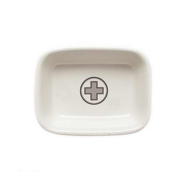 OUTLET - Men's Society | Ceramic Soap Dish | Apothecary*