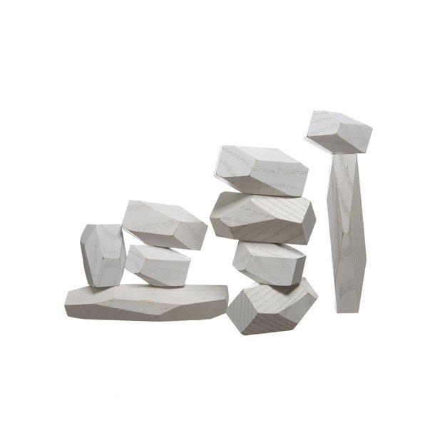OUTLET - Areaware - Balancing Blocks - Hvid*