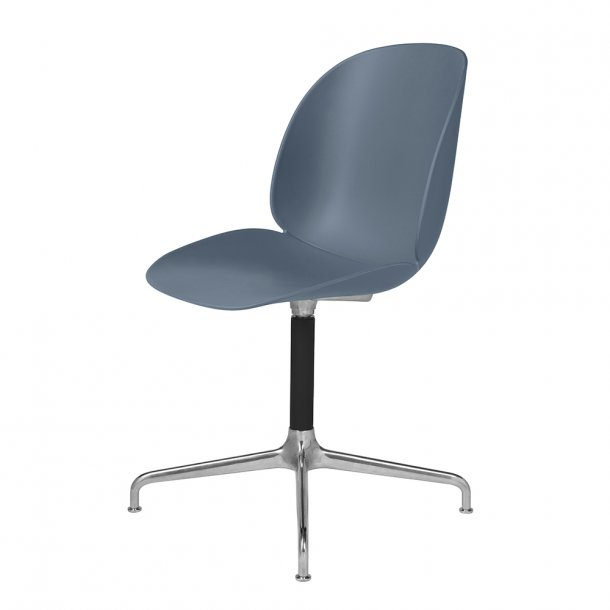 Gubi - Beetle Casted Swivel Chair - Uden polstring