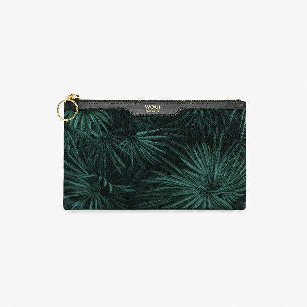 Wouf - Amazon - Velvet pocket clutch*