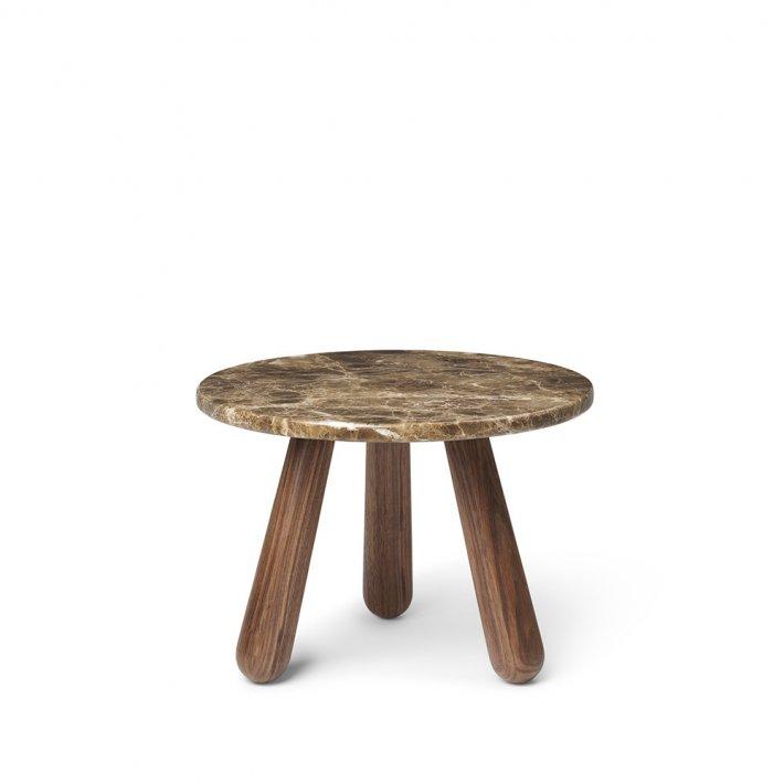 Paustian - Arctander Table   Walnut   Ø35