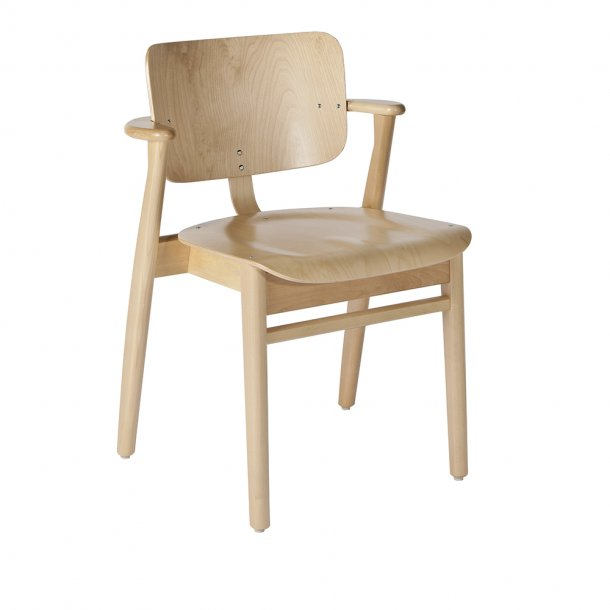 Artek - Domus Chair | Birch, frame, seat and backrest natural lacquered