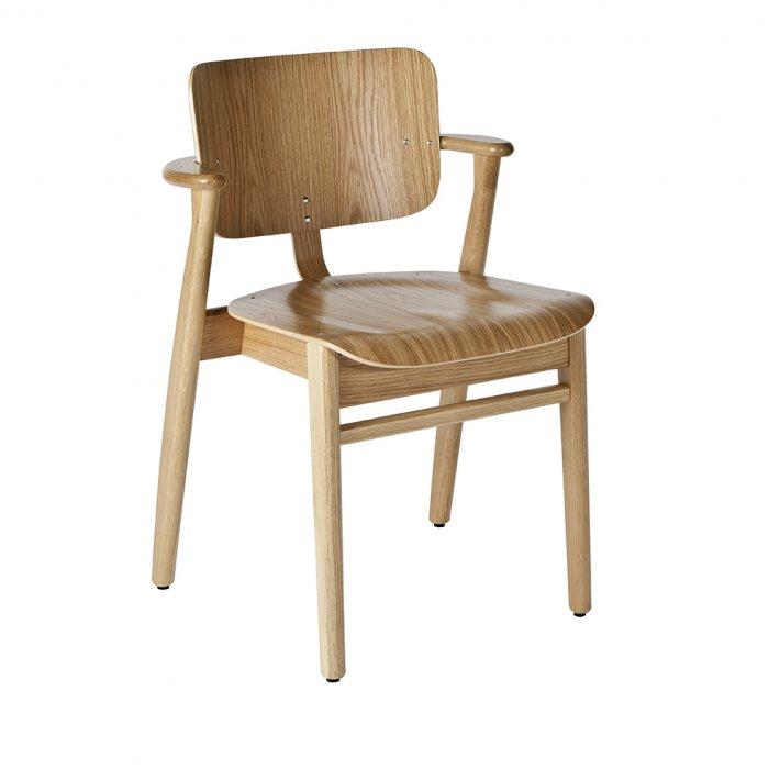 Artek - Domus Chair | Oak, frame, seat and backrest natural lacquered
