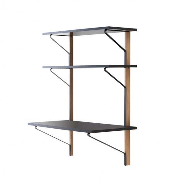 Artek - Kaari Wall Shelf, With Desk   REB 013