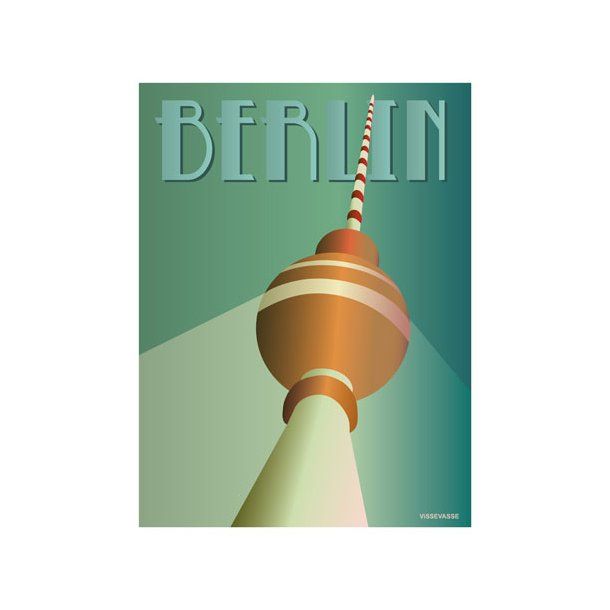 OUTLET - VisseVasse - BERLIN - Plakat*