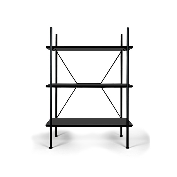 Novel Cabinet Makers - Stock - Shelving unit - low