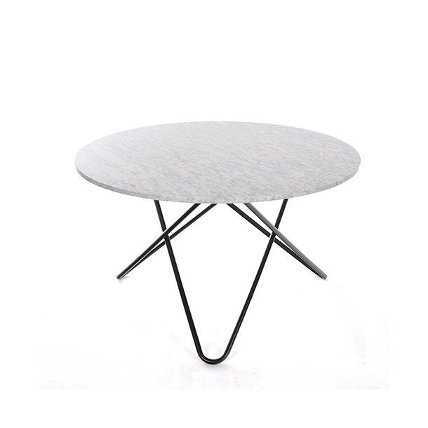 OX Denmarq - Big O Table - Hvid marmor - spisebord