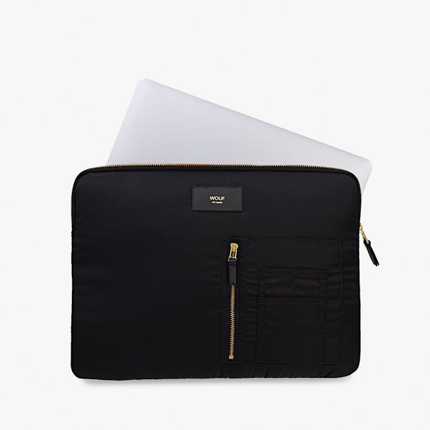 Wouf - Black Bomber - Laptop Sleeve - 13''