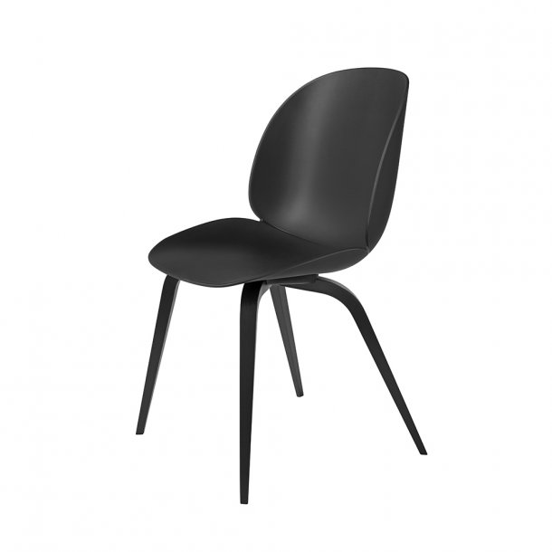 Gubi - Beetle Chair Wood Base - Uden polstring