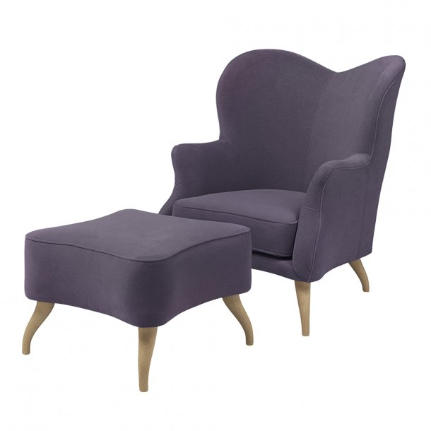 Gubi - Bonaparte Lounge Chair | Lænestol