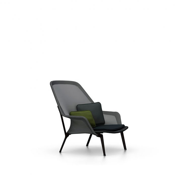 Vitra - Slow Chair | Pulverlakeret