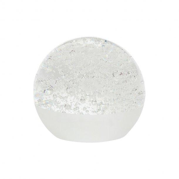 Hübsch - Brevpresser, glas | Hvid