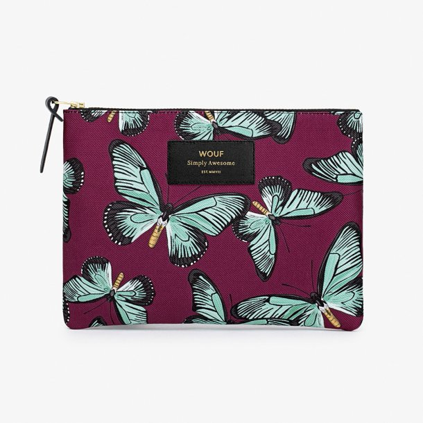 Wouf - Butterfly - Pouch