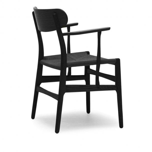 Carl Hansen & Søn - CH26 stol | sort flet