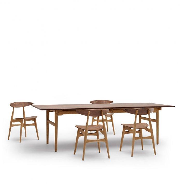 Carl Hansen & Søn - CH327 Spisebord 248 | valnød