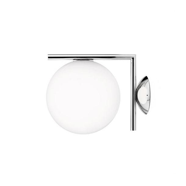Flos - IC light C/W1 - Vegglampe - liten - krom