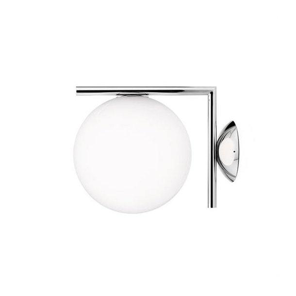 Flos - IC light C/W1 - Væglampe - lille - krom