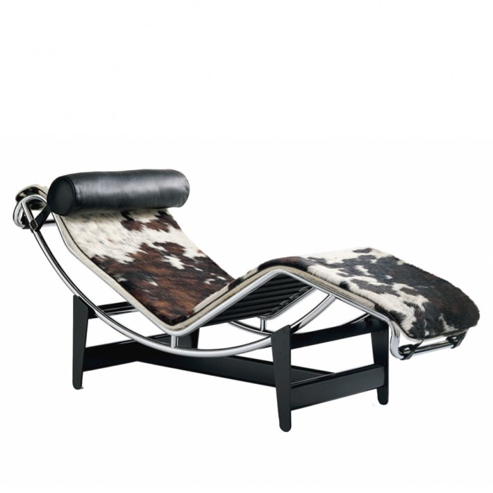 Cassina - LC4 Chaise Longue, Hairyskin