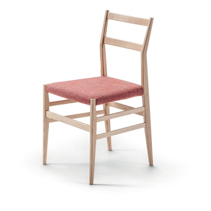 Cassina - 646 Leggera Chair | Stained ask, tekstil