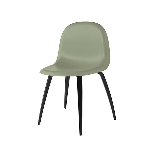 Gubi - 3D Dining Chair HiRek - Wood - Stol