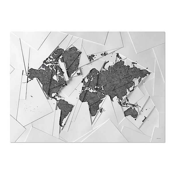 Chicura - Maps - Our World - Plakat