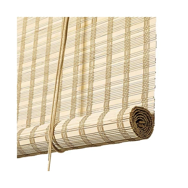 Color & Co - Roller blind - Light natural bamboo
