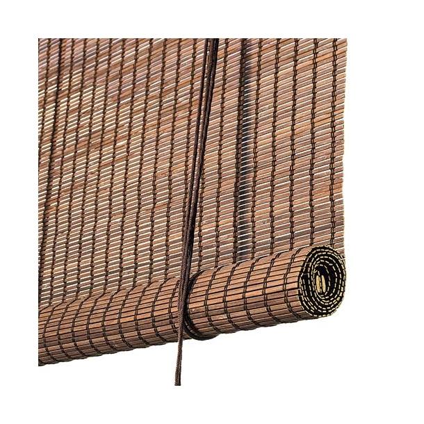 Color & Co - Roller blind | Dark brown bamboo