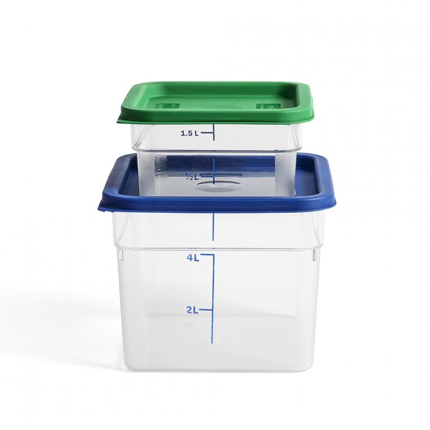 OUTLET - HAY - Coloured Lid Container - Boks*