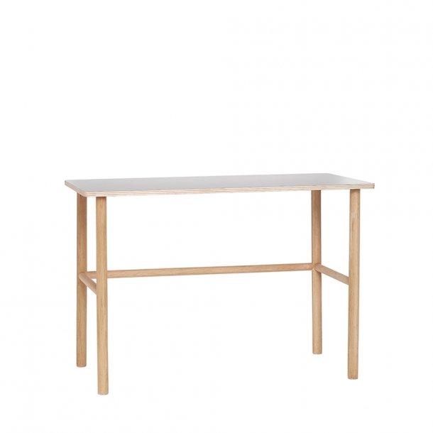 Hübsch - Desk, oak, nature/grey