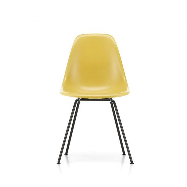 Vitra - Eames Fiberglass Side Chair DSX stol - sort