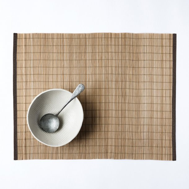 Color & Co - Placemats | Brown fine bamboo