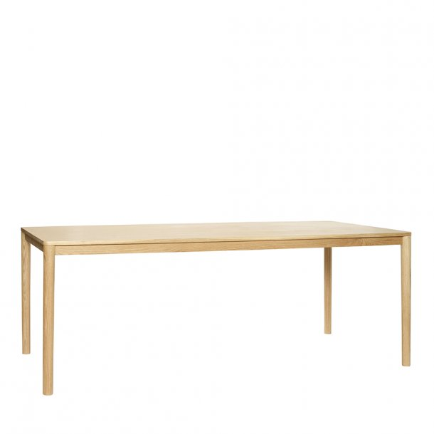 Hübsch - Dining table, oak, nature 200 cm